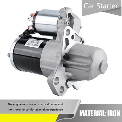Starter Motor to Fit Holden Commodore VZ & VE 3.6L Petrol V6 (LY7) 2004 to 2013.