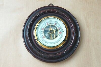 Antique Aneroid Wall Barometer