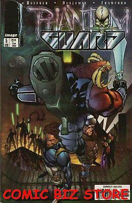 Phantom Guard #5 (1998) 1St Printing Bagged & Boarded Image