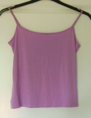 Ladies / Girls Purple Vest Top from Marks & Spencer Size 12