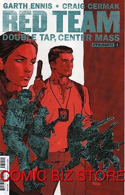 Red Team Double Tap Center Mass #3 (2016) 1St Printing Bagged & Boarded Dynamite