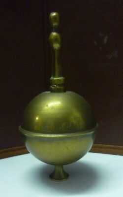 Single Victorian Longcase Clock Brass Finial