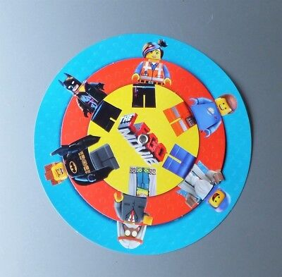 Lego the Movie promotional round 3 wheel