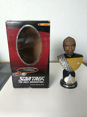 Star Trek The Next Generation Figur/Büste Limited Edition Lt. Worf