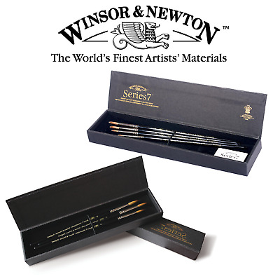 Winsor & Newton Series 7 Artist Finest Quality Kolinsky Sable Brush Set