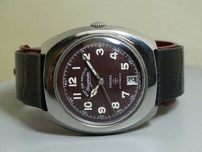 Vintage West End Automatic Day Date Mens Wrist Watch E145 Old Used Antique