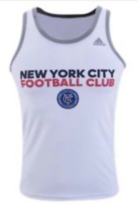 4ae0a58bcf4 Adidas Men s Tank Mls Nycfc New York City Football Club Soccer Climalite Nwt