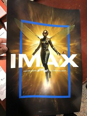 IMAX Marvel's Ant Man And The Wasp Poster 13x19