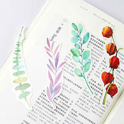30pcs/box Paper Bookmark Book Creative Gift School Office Home Kid Prize Gifts
