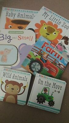 baby toddler books bundle, development books, touch and feel books, animal books