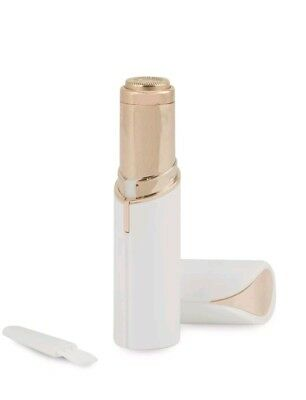 NEW JML Finishing Touch Flawless Gold Plated Discreet Hair Remover - White
