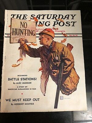 Saturday Evening Post Magazine  October 28, 1939