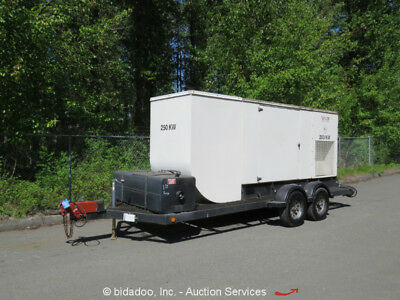Taylor Power Systems DS260M2 260kW T/A Towable Diesel Generator 325kVA GenSet