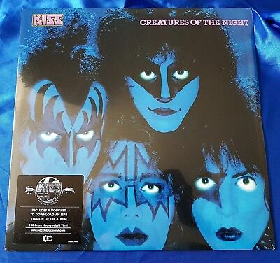 Kiss Lp - Creatures Of The Night, Sealed 180 Gr Vinyl, German 2014 Edition, Mint