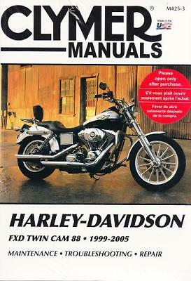 1999-2005 Harley FXD Dyna Twin Cam 88 Repair Service Workshop Shop Manual M4253