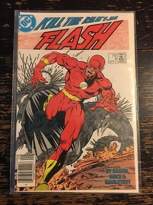 The Flash #4. (DC, 1987) Combine Shipping Discount