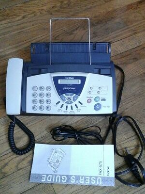 Brother Fax-575: Fax, Phone, Copier