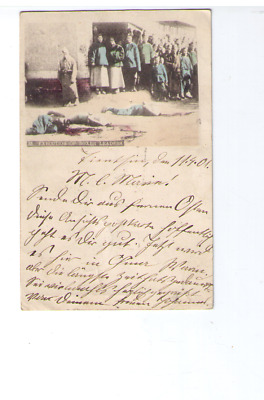 15) China TIENTSIN Feldpost 1901 EXECUTION OF BOXER LEADERS Ostas. Expedtions K.