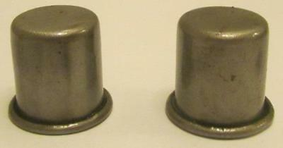 Nice Set of 2 Metal Oil Caps for Master Oil Spouts