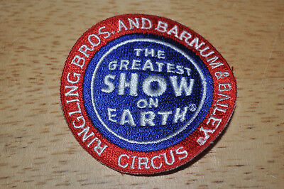 Embroidered Ringling Bros Barnum and Bailey Circus Logo Patch Badge