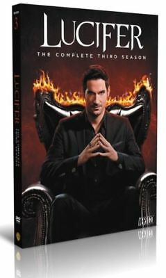 Lucifer Season 3 DVD Box Set Brand New & Sealed Fast & Quick Postage