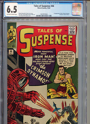 Tales of Suspense #46 (Marvel 1963) CGC Certified 6.5 Off-White-White Pages
