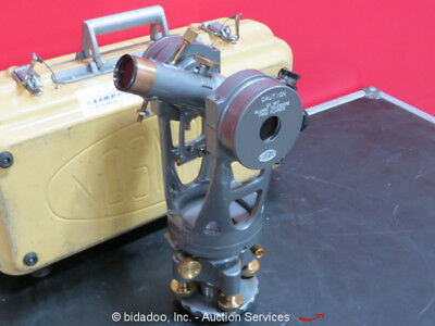 Brunson 76-RH190 Square Transit Theodolite Telescopic Optical Hard Case bidadoo