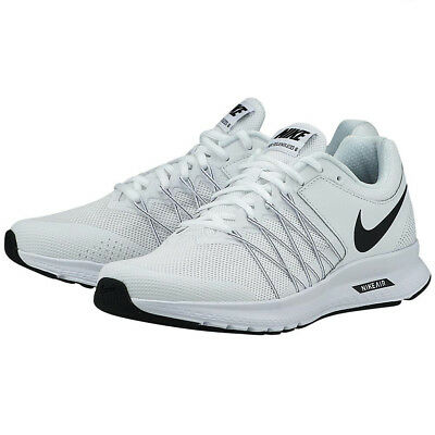 detailed pictures 08448 3be90 Nike AIR RELENTLESS 6 Mens White Black 843836-100 Running Athletic Shoes
