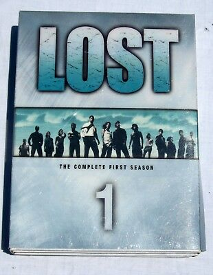 Lost - The Complete First Season 1 DVD 2005 7-Disc Set TV Series Box Set