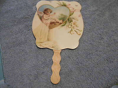 Advertising Hand Held Fan - Angel Sewing
