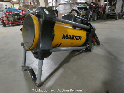 2007 Master TB108 Pro-Tough Propane Forced Air Direct Heater bidadoo