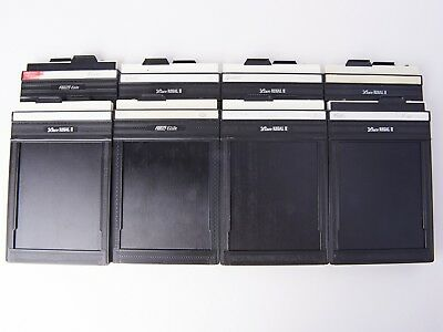4x5 large format film holders, 8 in total, Lisco and Fidelity, light tight