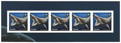 BASKING SHARK = Sharks in Canadian Waters = SS from Uncut Sheet MNH Canada 2018