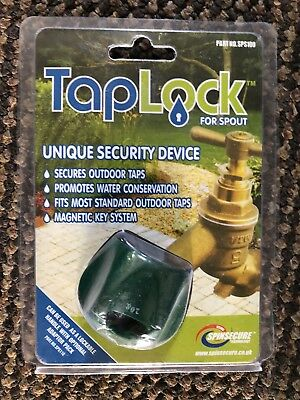 Outdoor Garden Tap Security Lock Device New Sealed In Box
