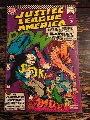 Justice League of America #46 First SA Sandman, 3rd SA App  Spectre CGC It
