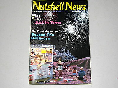#2087  July 1990  Nutshell News Minatures Magazine For Creators & Collectors