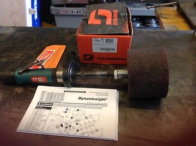 dynabrade DYNASTRAIGHT 13204 with pneumatic drum and belt