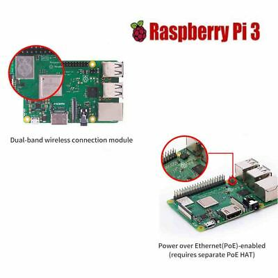 Original Raspberry Pi 3 Model B/B+ Quad Core Wifi & Bluetooth 1.2GHz 64 bit CPU