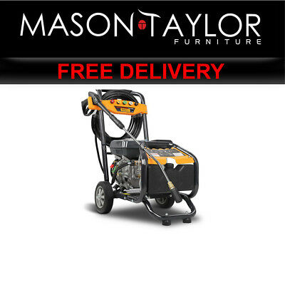 Mason Taylor 4800PSI High Pressure Washer Petrol Cleaner  WASHER-80D-15M-GY