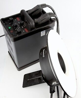 Bowens Quad 2400 Power pack with ring light Very little use