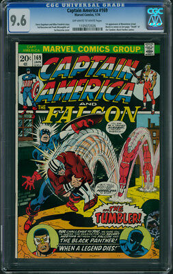 Captain America #169 CGC 9.6 (1st MOONSTONE in Cameo / BLACK PANTHER CAMEO)