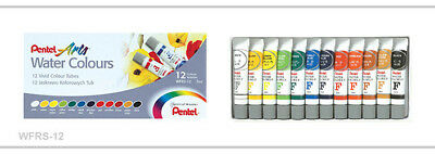 Pentel Water Colours - set of 12