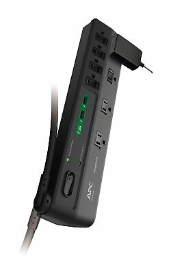 Apc P8U2 8-outlet Surgearrest(r) Surge Protector With 2 Usb Charging Ports