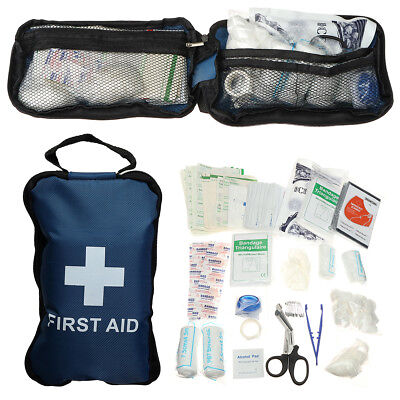168 Piece Medical Emergency Advanced Extensive Robust Durable First Aid Bag Kit