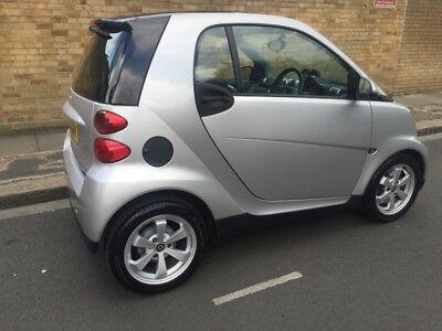 Smart Fortwo Silver Breaking For Spares Parts