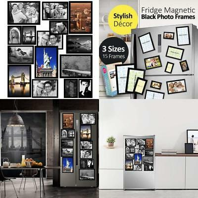 Gresatek Magnetic Picture Frames Photo Collage Frame For