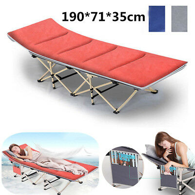 Folding Camping Bed Outdoor Portable Military Cot Sleeping Hiking Travel Office