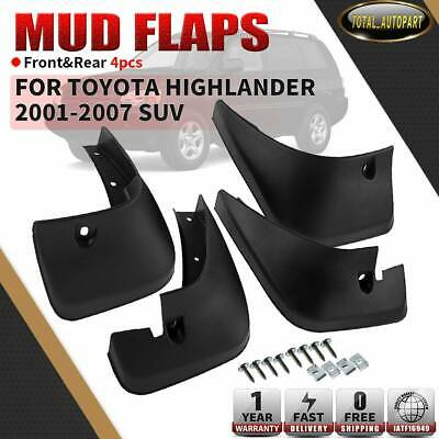 Full Sets Splash Guards Mud Flaps For Toyota Highlander 2001-2007 76626-48020