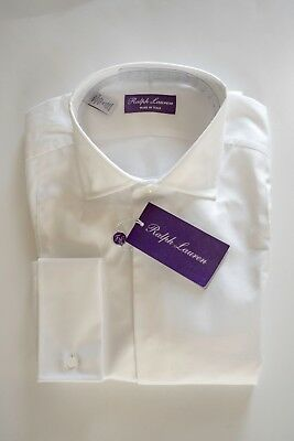 BNWT $695 Ralph Lauren Purple Label Dinner Tuxedo Dress Shirt 16