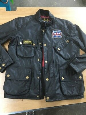 Barbour International Jacket Size Small